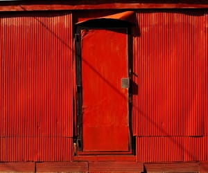 metal, photography, and red image
