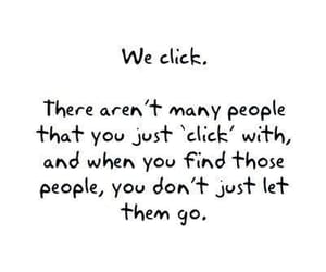 love, quotes, and click image