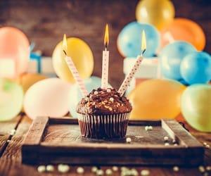 balloon, b'day, and birthday image