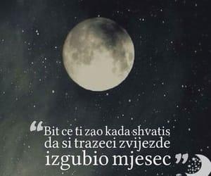 citati, zvijezde, and mjesec image