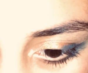 eyeshadow, urban decay, and blue eye shadow image