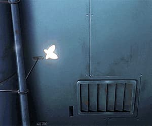aesthetic, animation, and butterfly image