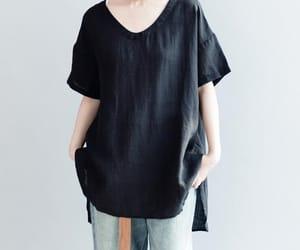 black shirt, loose shirt, and white shirt image