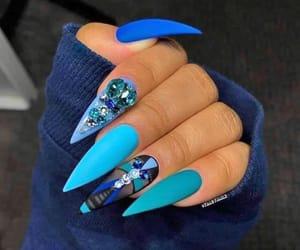 nail, nails, and uñas image