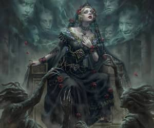 macabre, princess, and undead image