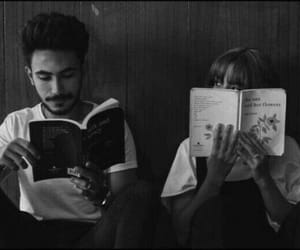 book, aesthetic, and couple image