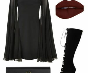 dress, fancy, and Polyvore image