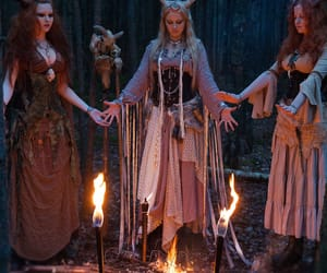 witch, magic, and pagan image