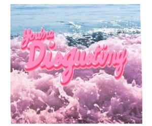 disgusting, pink, and grunge image