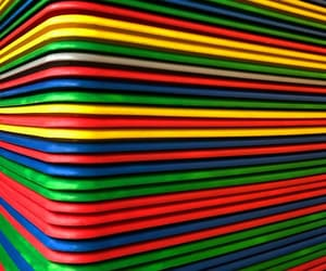colors, corner, and stripes image