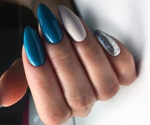 art, nails, and colors image
