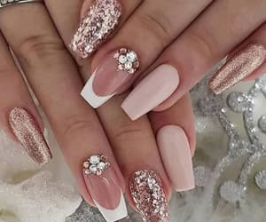 design, nails, and fashion image