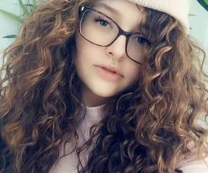 beanie, big hair, and curls image