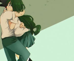 boku no hero academia, tsuyu asui, and tsuyu image