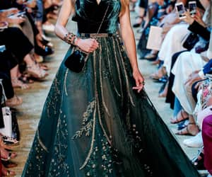 elie saab, green, and game of thrones image