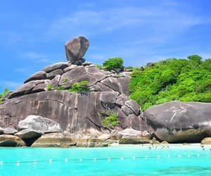 holidays, ocean, and thailand image