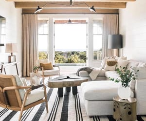home, living room, and window image