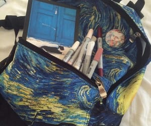 van gogh, bag, and vincent image