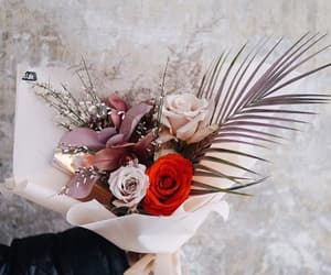 bouquet, flowers, and bouquet of flowers image