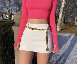 clothes, hot pink, and fashion image