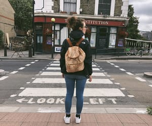 camden town, girl, and Great Britain image