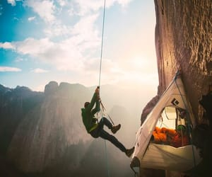 adventure, nature, and climbing image