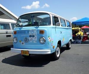 1970s, aqua, and blue image