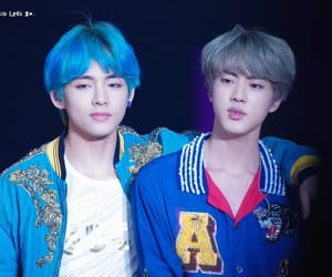 bts, taejin, and jin image