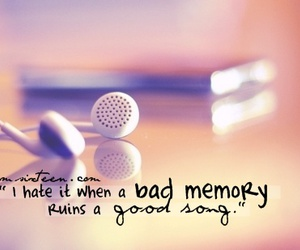 bad, memory, and music image