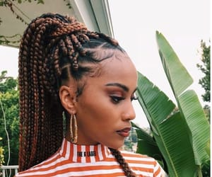 beauty, braids, and wigs image