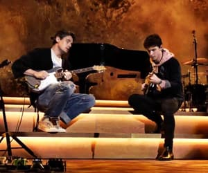 concert, john mayer, and musician image