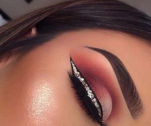 makeup, eyeshadow, and glam image