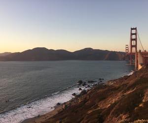 beach, california, and baker beach image