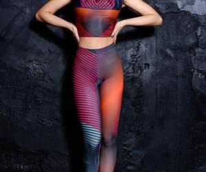 etsy, festival leggings, and high waisted image
