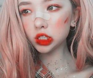 aesthetic, eyes, and girls image