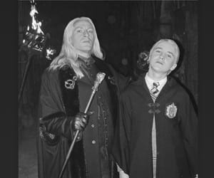 draco malfoy, lucius malfoy, and instagram image