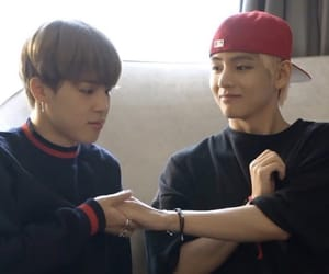 bts, kpop, and vmin image