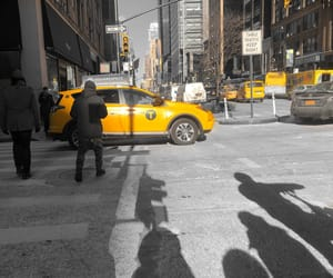 america, new york, and taxi image