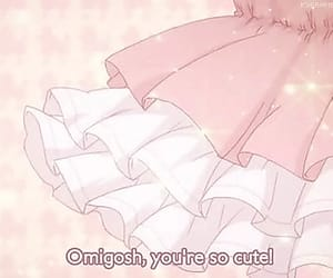 pink, anime, and kawaii image