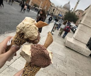 Dream, ice cream, and food image