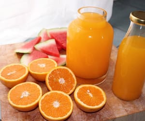 orange, healthy, and fruit image