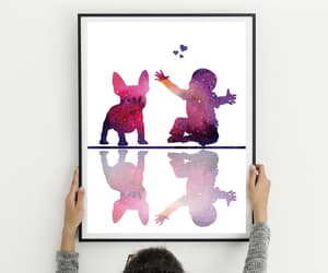 etsy, nursery wall art, and baby shower gift image