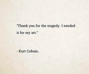 art, frases, and kurt cobain image