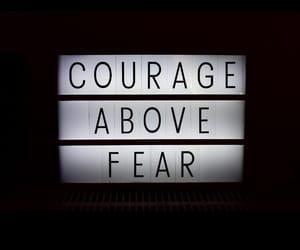 στιχακια, αποφθεγματα, and courage above fear image