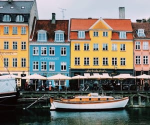 city, denmark, and old city image
