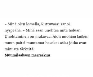 quote, muumit, and moomin image