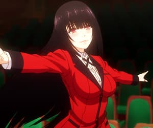 anime, anime girl, and kakegurui image