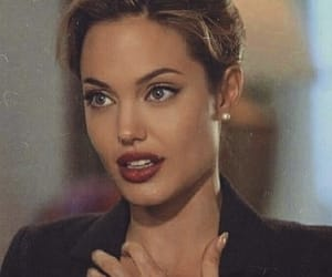 Angelina Jolie and vintage image