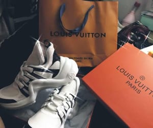 Louis Vuitton, shoes, and LV image