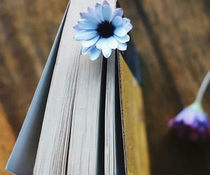 books, flower, and ًورود image
